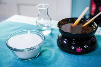 Домашний шугаринг, подготовка сахарной пасты