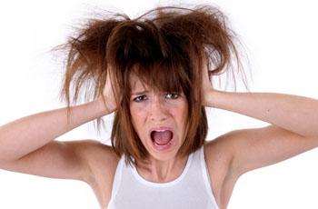 Волосы электризуются, что делать