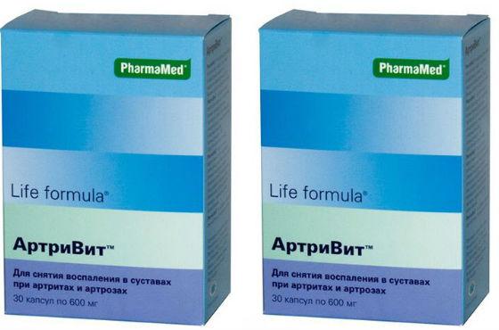 Артривит для предотвращения и лечения суставных тканей