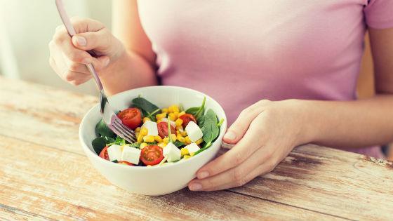 Белково-углеводный салат в смешанный день