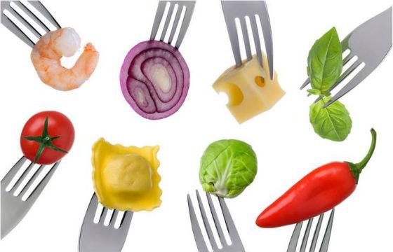 Продукты с высоким содержанием белков и углеводов