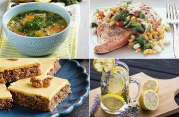 Диетические блюда для похудения: рецепты первого, второго, десерта, напитков, правила питания