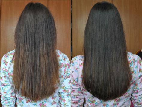 Маска для волос сухих с желатином