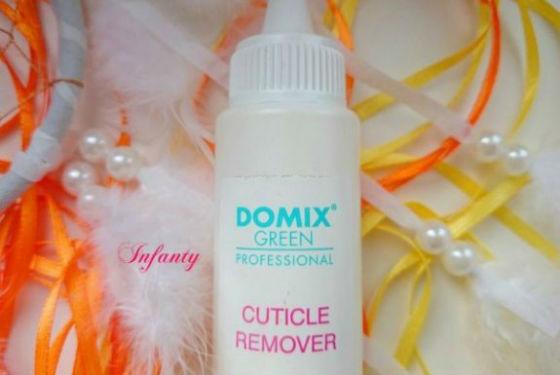 Профессиональный гель Domix Green для снятия кожи вокруг ногтя