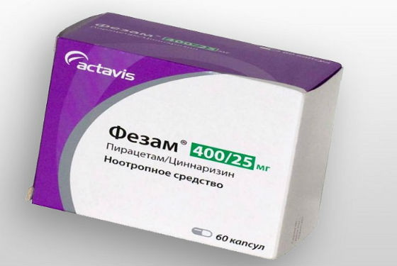 Фезам улучшает клеточный метаболизм