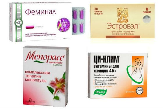 Таблетированная форма фитоэстрогенов