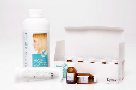 Продукт Hair Botox от Kashmir Keratin Hair System