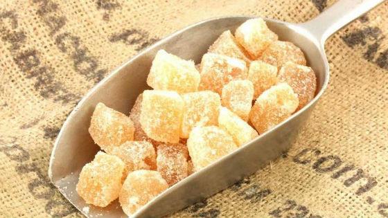 Полезное лакомство имбирные цукаты