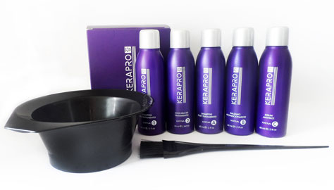 Необходимые инструменты для процедуры выпрямления волос с кератином