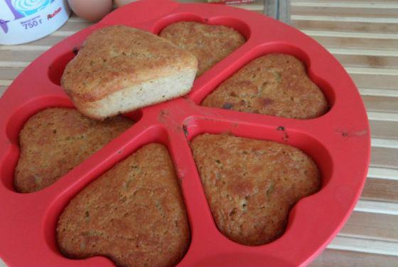Домашние кексы с добавлением отрубей