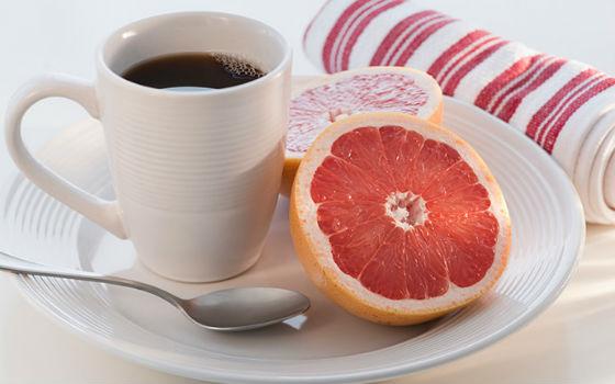 Кофе и грейпфрут как основные жиросжигатели