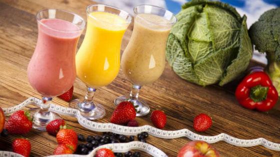 Фруктово-овощной напиток для снижения веса