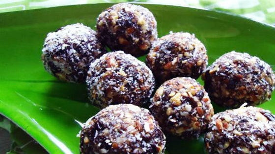 Домашние конфеты с добавлением чернослива