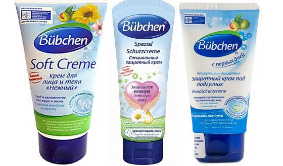 Крема от Bubchen для лечения дерматитов