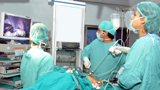 Хирургическое лечение кистозных образований яичников