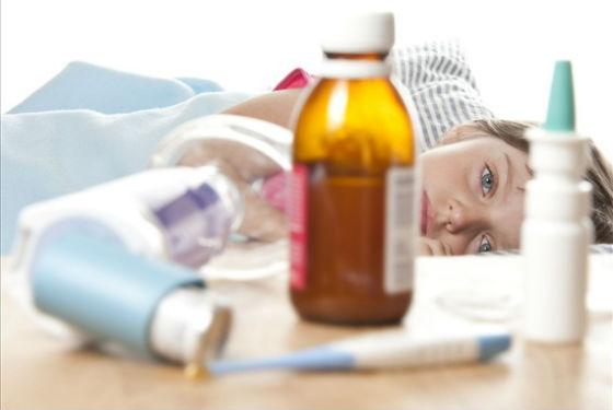 Больной ребенок должен соблюдать постельный режим