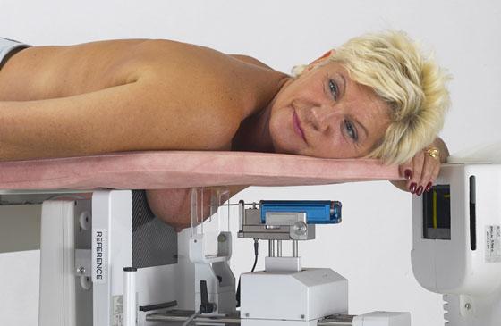 Маммографическое обследование груди