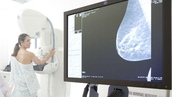 Маммограмма для диагностики и дифференциации опухолей женской груди