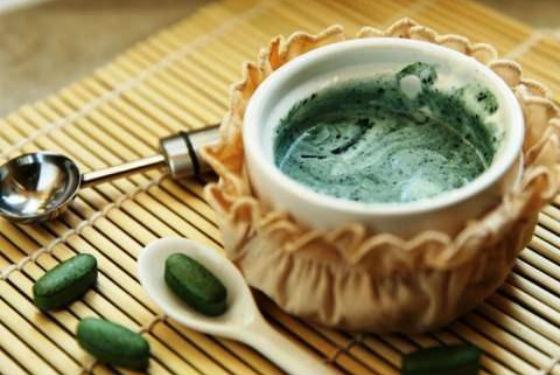 Состав для приготовление маски с водорослью спирулиной