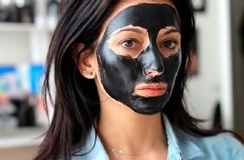 маска для лица желатин и уголь как делать