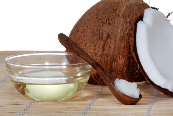Кокосовое масло для приготовления масок