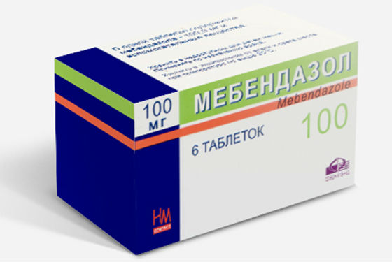 Мебендазол для лечения гельминтоза у людей