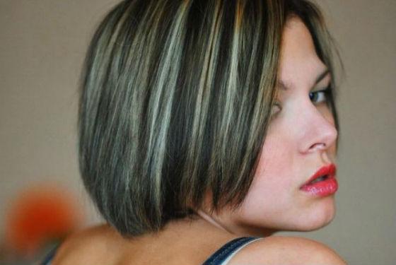 Уход за волосами :: Мелирование на темные волосы: лучшие варианты, фото
