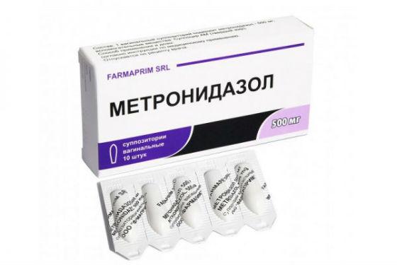 Свечи метронидазола при терапии инфекционных заболеваний