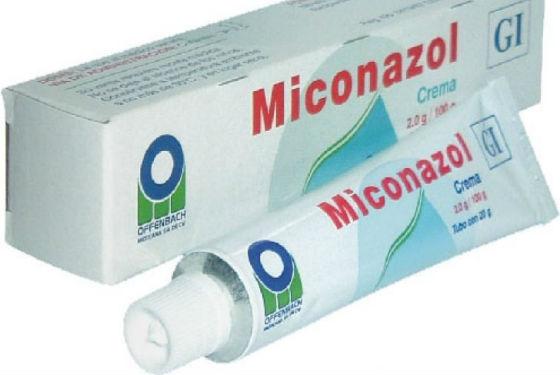 Крем с миконазолом для местного лечения кандидоза