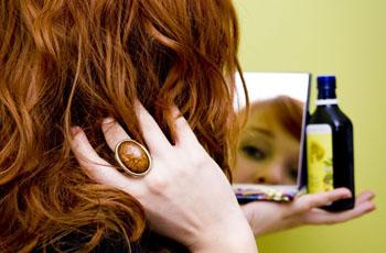 Маска от выпадения волос с репейным маслом с перцем