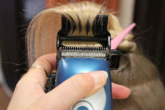 Полировальная насадка для гладкости волос
