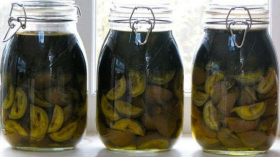 Грецкий орех на водке для очищения капилляров