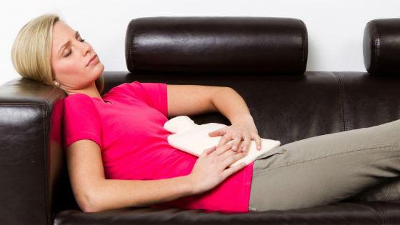Облегчение болей при менструации домашними способами