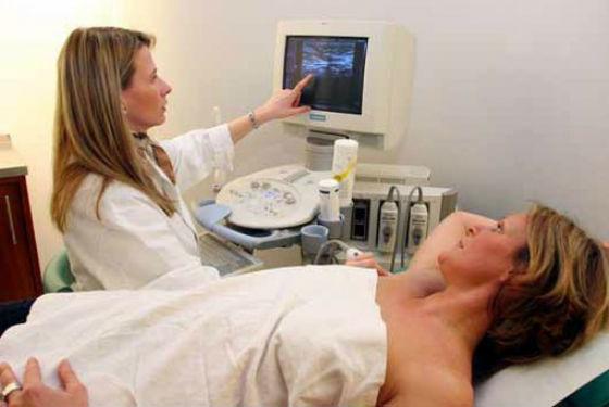 УЗИ позволяет обнаружить кисту на ранней стадии развития