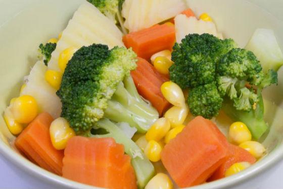 Овощи и каши являются основной едой после очищения