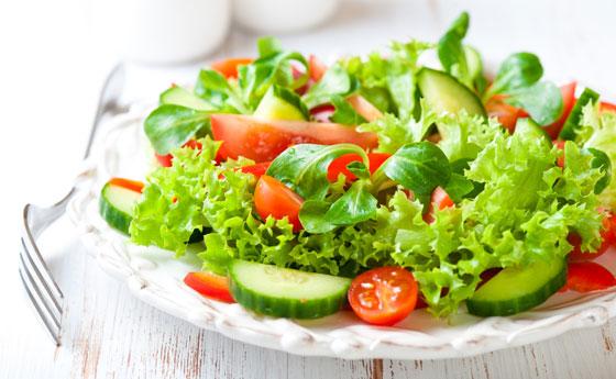 Овощная диета на месяц