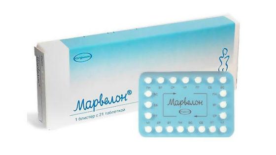 Противозачаточные таблетки марвелон