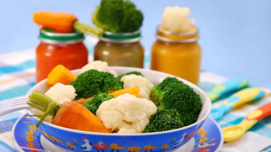 Овощи для первого знакомства с пищей