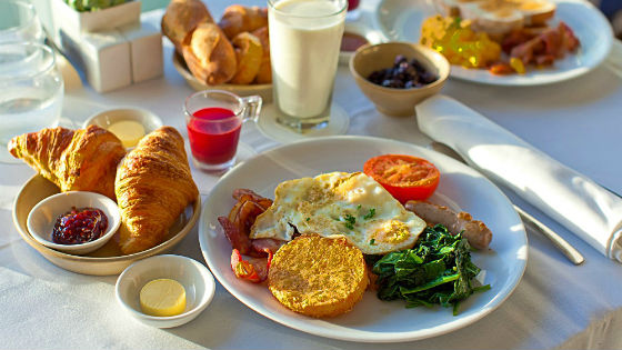 Завтрак на системе Миримановой сытный и разнообразный