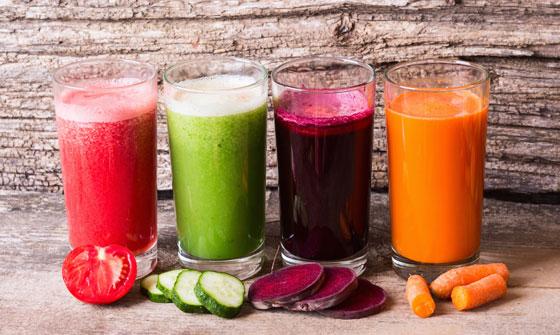 Популярные овощные соки