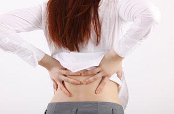 Причина жжения в грудном отделе позвоночника