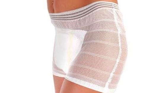 Трусы с объемной прокладкой как гигиеническое средство при обильных выделениях