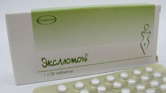 Подавление овуляции с помощью препаратов прогестерона