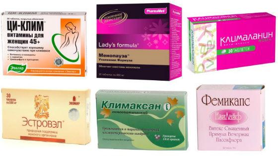 Препараты, не содержащие гормонов
