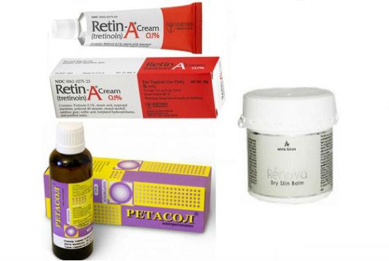 Средства с ретинолом для кожи лица