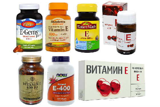 Препараты синтетического токоферола