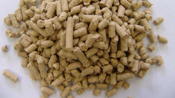 Менее полезные прессованные зерновые оболочки