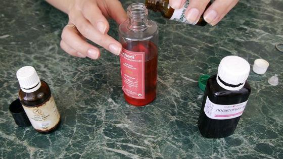 Изготовление средства для очищения кожи своими руками