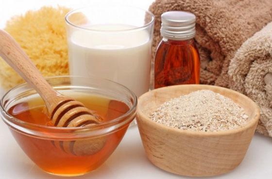 Ингредиенты для восстанавливающей маски