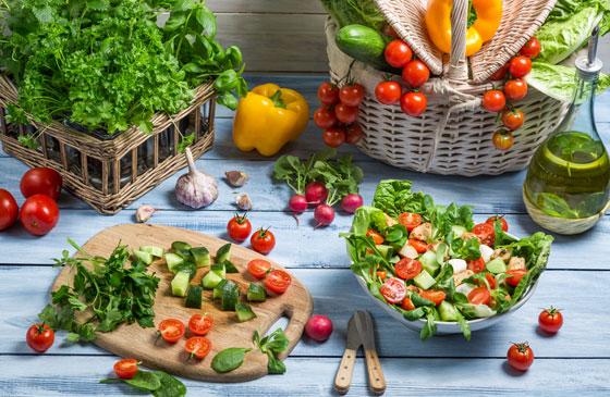 Принципы диеты на овощах
